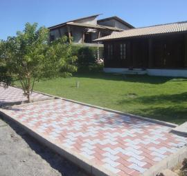 Calçada em condomínio residencial na Paraíba