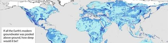 EARTH'S HIDDEN GROUNDWATER MAPPED: LESS THAN SIX PER CENT RENEWABLE WITHIN A HUMAN LIFETIME