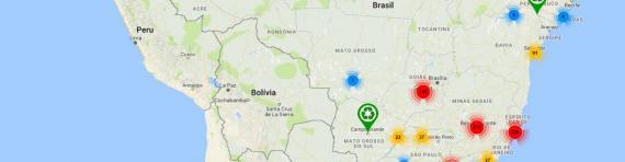 Levantamento mapeia a reciclagem de plásticos no Brasil